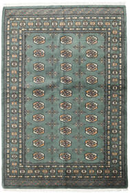 Pakistan Bokhara 3Ply Rug 140X205 Authentic  Oriental Handknotted Dark Grey/Light Grey (Wool, Pakistan)