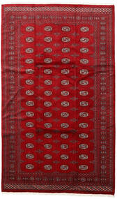 Pakistan Bokhara 3Ply Rug 200X315 Authentic  Oriental Handknotted Crimson Red/Dark Red (Wool, Pakistan)