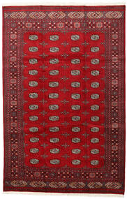 Pakistan Bokhara 2Ply Rug 202X312 Authentic  Oriental Handknotted Crimson Red/Dark Red (Wool, Pakistan)