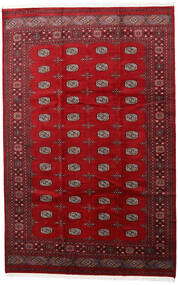 Pakistan Bokhara 2Ply Rug 205X315 Authentic  Oriental Handknotted Crimson Red/Dark Red (Wool, Pakistan)