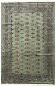 Pakistan Bokhara 2Ply Rug 200X307 Authentic  Oriental Handknotted Dark Grey (Wool, Pakistan)