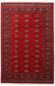 Pakistan Bokhara 2Ply Vloerkleed 201X309 Echt Oosters Handgeknoopt Rood/Donkerrood (Wol, Pakistan)