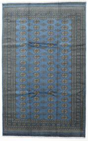 Pakistan Bokhara 2Ply Matta 199X315 Äkta Orientalisk Handknuten Mörkblå/Ljusblå (Ull, Pakistan)