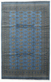 Pakistan Bokhara 2Ply Vloerkleed 199X315 Echt Oosters Handgeknoopt Donkerblauw/Lichtblauw (Wol, Pakistan)