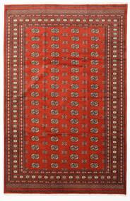 Pakistan Bokhara 2Ply Rug 203X313 Authentic  Oriental Handknotted Dark Brown/Rust Red (Wool, Pakistan)
