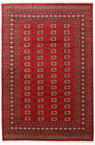 Pakistan Bokhara 2Ply Rug 202X305 Authentic  Oriental Handknotted Dark Red/Crimson Red (Wool, Pakistan)