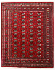 Pakistan Bokhara 2Ply Teppe 204X253 Ekte Orientalsk Håndknyttet Mørk Rød/Rød (Ull, Pakistan)