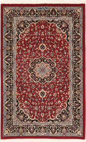 Ilam Sherkat Farsh Jedwab Dywan 82X128 Orientalny Tkany Ręcznie Ciemnoczerwony/Ciemnobrązowy (Wełna/Jedwab, Persja/Iran)