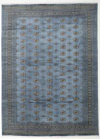 Pakistan Bokhara 2Ply Vloerkleed 305X415 Echt Oosters Handgeknoopt Blauw/Donkergrijs Groot (Wol, Pakistan)