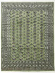 Pakistan Bokhara 2Ply Matto 246X315 Itämainen Käsinsolmittu Oliivinvihreä/Tummanharmaa (Villa, Pakistan)