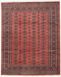 Pakistan Bokhara 2Ply Matto 242X301 Itämainen Käsinsolmittu Tummanpunainen/Ruskea (Villa, Pakistan)