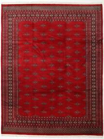 Pakistan Bukara 2Ply Tappeto 247X310 Orientale Fatto A Mano Rosso Scuro/Rosso (Lana, Pakistan)