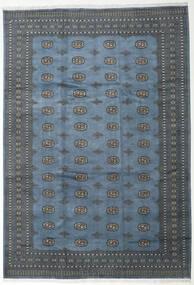 Pakistan Bokhara 2Ply Matto 248X360 Itämainen Käsinsolmittu Sininen/Tummansininen (Villa, Pakistan)