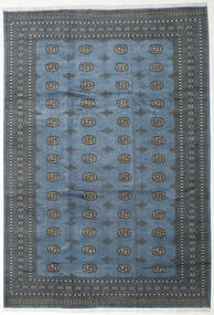 Pakistan Bokhara 2Ply Vloerkleed 248X360 Echt Oosters Handgeknoopt Blauw/Donkerblauw (Wol, Pakistan)
