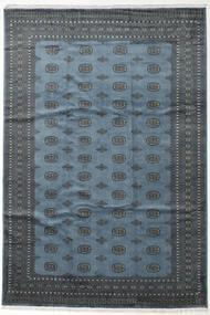 Pakistan Bokhara 2Ply Matta 245X359 Äkta Orientalisk Handknuten Mörkgrå/Blå (Ull, Pakistan)
