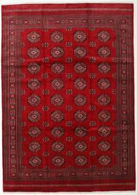 Pakistan Bokhara 3Ply Vloerkleed 247X352 Echt Oosters Handgeknoopt Rood/Donkerrood (Wol, Pakistan)