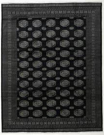Pakistan Bokhara 3Ply Rug 314X403 Authentic  Oriental Handknotted Black/Dark Grey Large (Wool, Pakistan)