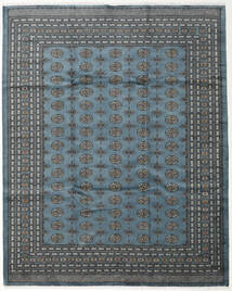Pakistan Bokhara 2Ply Rug 248X310 Authentic  Oriental Handknotted Dark Grey/Blue/Light Grey (Wool, Pakistan)