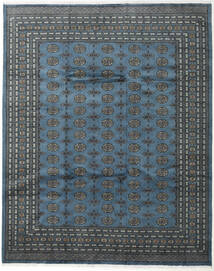 Pakistan Bokhara 2Ply Rug 248X308 Authentic  Oriental Handknotted Dark Blue/Dark Grey (Wool, Pakistan)