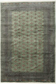 Pakistan Bokhara 3Ply Rug 243X358 Authentic  Oriental Handknotted Dark Grey/Light Grey (Wool, Pakistan)