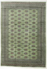 Pakistan Bokhara 2Ply Rug 244X355 Authentic  Oriental Handknotted Dark Grey/Olive Green (Wool, Pakistan)