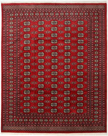 Pakistan Bokhara 2Ply Rug 247X303 Authentic  Oriental Handknotted Dark Red/Crimson Red (Wool, Pakistan)