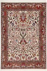 Tabriz 50 Raj Con Seta Tappeto 105X155 Orientale Fatto A Mano Marrone Scuro/Rosso Scuro (Lana/Seta, Persia/Iran)