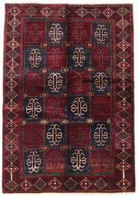 Lori Rug 137X200 Authentic  Oriental Handknotted Dark Red/Dark Brown (Wool, Persia/Iran)