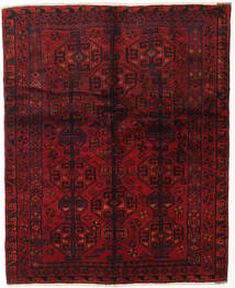 Lori Rug 155X190 Authentic  Oriental Handknotted Dark Red/Dark Brown (Wool, Persia/Iran)