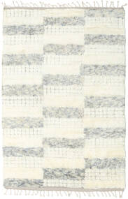 Barchi/Moroccan Berber - Indo Rug 149X231 Authentic  Modern Handknotted Beige/White/Creme (Wool, India)