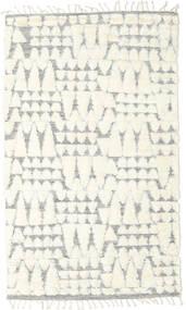 Barchi/Moroccan Berber - Indie Dywan 160X230 Nowoczesny Tkany Ręcznie Beżowy/Biały/Creme/Jasnoszary (Wełna, Indie)