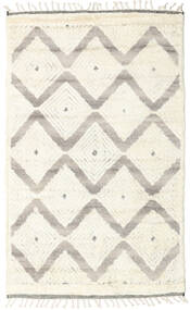 Barchi/Moroccan Berber - Indo Rug 152X242 Authentic  Modern Handknotted Beige/Light Grey (Wool, India)