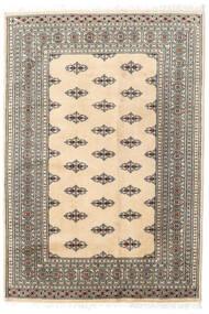 Pakistan Bokhara 2Ply Rug 127X185 Authentic  Oriental Handknotted Beige/Light Grey (Wool, Pakistan)