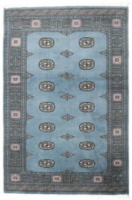 Pakistan Bokhara 2Ply Rug 125X187 Authentic  Oriental Handknotted Light Blue/Dark Grey (Wool, Pakistan)