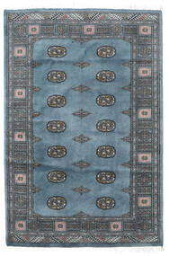Pakistan Bokhara 2Ply Rug 125X188 Authentic  Oriental Handknotted Dark Grey/Dark Blue (Wool, Pakistan)