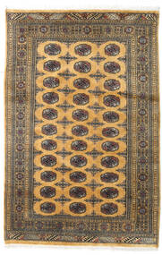 Pakistan Bokhara 2Ply Rug 107X180 Authentic  Oriental Handknotted Light Brown/Dark Grey (Wool, Pakistan)