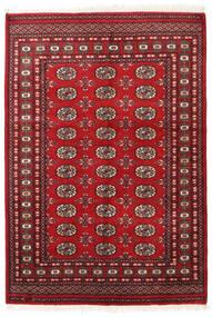 Pakistan Bokhara 2Ply Teppe 128X186 Ekte Orientalsk Håndknyttet Mørk Rød/Rød (Ull, Pakistan)