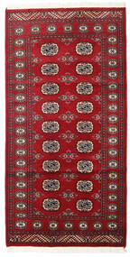 Pakistan Bokhara 2Ply Rug 100X198 Authentic  Oriental Handknotted Dark Red/Crimson Red (Wool, Pakistan)