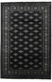Pakistan Bokhara 2Ply Vloerkleed 161X242 Echt Oosters Handgeknoopt Zwart/Donkergrijs (Wol, Pakistan)