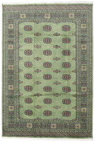 Pakistan Bokhara 2Ply Rug 169X248 Authentic  Oriental Handknotted Dark Grey/Olive Green (Wool, Pakistan)