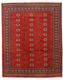 Pakistan Bokhara 2Ply Rug 197X247 Authentic  Oriental Handknotted Rust Red/Dark Red (Wool, Pakistan)