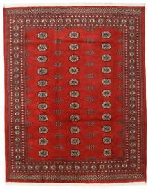 Pakistan Bokhara 2Ply Teppe 197X247 Ekte Orientalsk Håndknyttet Rust/Mørk Rød (Ull, Pakistan)