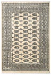 Pakistan Bokhara 2Ply Rug 167X243 Authentic  Oriental Handknotted Beige/Dark Grey/Light Grey (Wool, Pakistan)