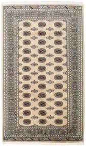 Pakistan Bokhara 2Ply Matto 152X254 Itämainen Käsinsolmittu Beige/Vaaleanharmaa (Villa, Pakistan)