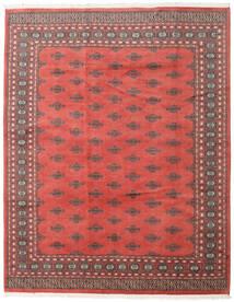 Pakistan Bokhara 2Ply Matto 199X251 Itämainen Käsinsolmittu Ruoste/Punainen (Villa, Pakistan)