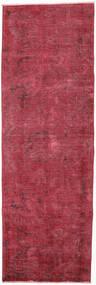カラード ヴィンテージ - Persien/Iran 絨毯 85X263 モダン 手織り 廊下 カーペット 深紅色の/赤 (ウール, ペルシャ/イラン)