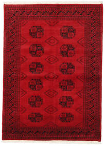 Pakistan Bokhara 2Ply Rug 139X192 Authentic  Oriental Handknotted Crimson Red/Dark Red (Wool, Pakistan)