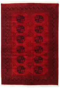 Pakistański Bucharski 2Ply Dywan 138X199 Orientalny Tkany Ręcznie Ciemnoczerwony/Czerwony (Wełna, Pakistan)