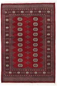 Pakistan Bokhara 2Ply Teppe 135X199 Ekte Orientalsk Håndknyttet Mørk Rød/Rød (Ull, Pakistan)