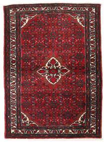 Hamadan Sag 110X153 Autentični Orijentalni Ručno Uzlan Tamnocrvena/Tamnosmeđa (Vuna, Perzija/Iran)